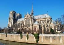 Notre Dame, Parijs Royalty-vrije Stock Afbeeldingen