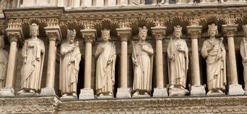 Notre Dame Parijs stock foto's