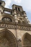 Notre Dame Parijs stock afbeeldingen
