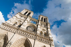 Notre dame - paris Royalty Free Stock Photography