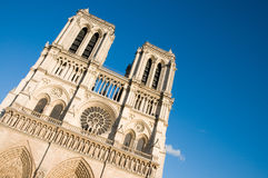 Notre dame - paris Stock Photo