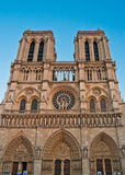 Notre Dame of Paris, Royalty Free Stock Photos
