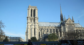 Notre-Dame of Paris Stock Photo