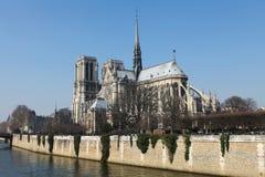 Notre Dame in Paris Stock Images