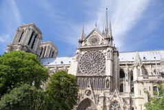 Notre Dame Paris. Royalty Free Stock Photos