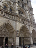 Notre Dame of Paris Stock Photography
