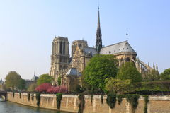 Notre Dame at Paris Royalty Free Stock Image