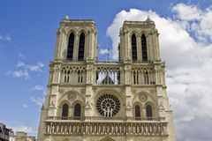 Notre Dame in Paris Royalty Free Stock Image