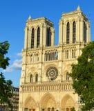 Notre Dame Paris Royaltyfria Foton