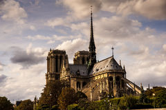 Notre Dame in Paris Royalty Free Stock Images