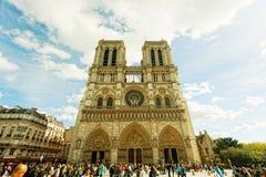 Notre-Dame Paris Royaltyfri Fotografi