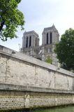 Notre Dame in Paris Stock Photo