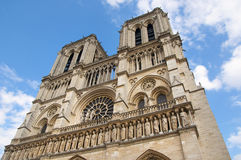 Notre-Dame in Paris Stock Image