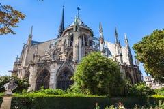 Notre Dame in Paris Stockfotos