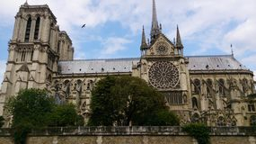 Notre Dame Paris Lizenzfreie Stockfotos