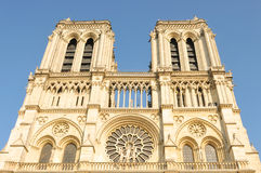 Notre Dame in Paris Stock Images