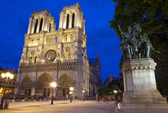 Notre Dame in Paris Stock Photography