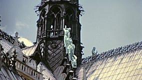 Notre Dame Paris banque de vidéos