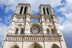 Notre Dame Paris, France Royalty Free Stock Photos