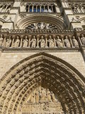 Notre Dame, Paris (France) Royalty Free Stock Images