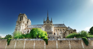 Notre Dame Paris, France Fotografia de Stock Royalty Free