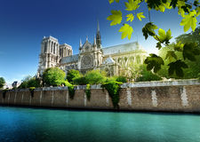 Notre Dame  Paris France Royalty Free Stock Photo