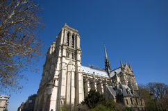 Notre Dame in Paris, France Stock Photography