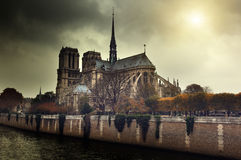 Notre Dame Paris, France Stock Photos