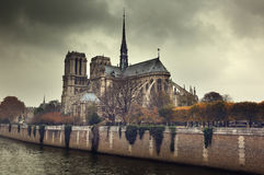 Notre Dame Paris, France Stock Photography