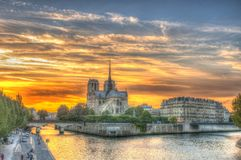 Notre Dame, Paris, France Photo stock