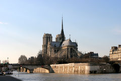 Notre Dame Paris France Royalty Free Stock Photos