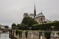 Notre Dame in Paris France Royalty Free Stock Photography