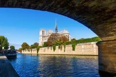 Notre Dame in Paris, France Stock Photos