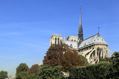 Notre Dame cathedral Paris France Royalty Free Stock Photography