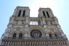 Notre Dame - Paris. Notre Dame - front view Stock Photography
