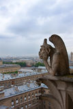 Notre Dame of Paris, Gargoyle Royalty Free Stock Image