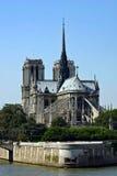 Notre-Dame Paris. Notre-Dame cathedral on the Îl de la Cité in the fourth arrondissement of Paris Stock Images
