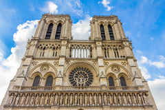 Notre Dame in Paris in Paris France Royalty Free Stock Images