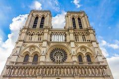 Notre Dame in Paris in Paris Frankreich Lizenzfreie Stockbilder