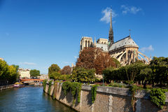 Notre Dame, Paris Royalty Free Stock Photo