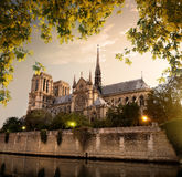 Notre Dame in Paris Royalty Free Stock Photography