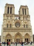 notre dame Paryża Fotografia Royalty Free