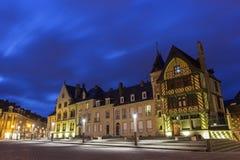 Notre Dame Place à Amiens dans les Frances Image libre de droits