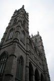 Notre Dame que se eleva, Montreal Imagen de archivo