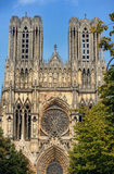 Notre-Dame at Reims Stock Photography