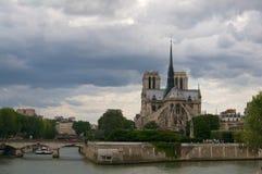 Notre Dame-riviermening Stock Afbeelding