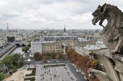 Notre Dame's Gargoyle Royalty Free Stock Photography