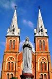 Notre Dame, Saigon, Vietnam Stock Photography