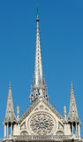 Notre Dame spire Royalty Free Stock Photography