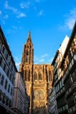 Notre Dame in Strasbourg Royalty Free Stock Images